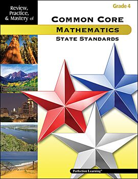 Review, Practice, & Mastery of the Common Core State Standards: Mathematics - Grade 4