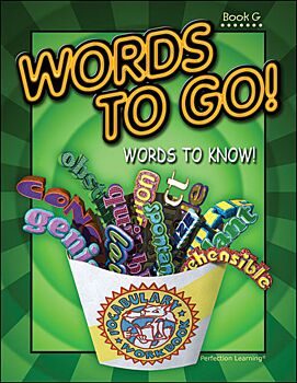 Words to Go! Words to Know! - Grade 7 (Book G)