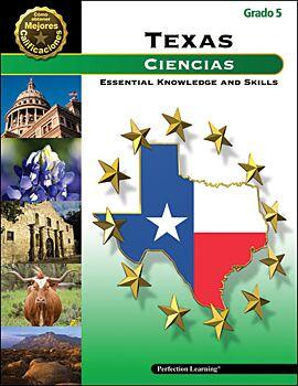 Better Test Scores for Texas (STAAR): Science: Grade 5 (Spanish)