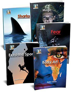 Fact to Fiction Books Sampler - Set V (5 titles)