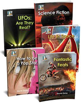 Fact to Fiction Books Sampler - Set VI (5 titles)
