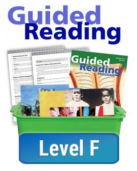 Guided Reading - Essentials - Level F (10 titles, 6 copies of each)