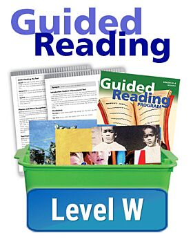 Guided Reading - Essentials - Level W (10 titles, 6 copies of each)