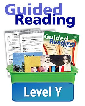 Texas Guided Reading Program - Essentials - Level Y (10 titles, 6 copies of each)