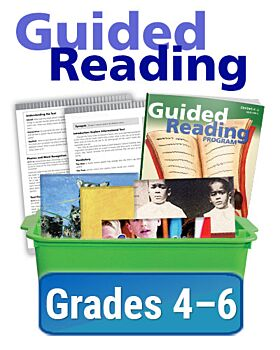 Texas Guided Reading Program Bookroom - Informational - Grades 4-6 (100 titles, 6 copies of each)