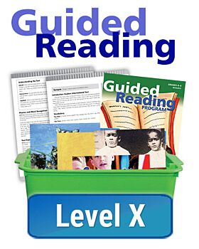 Guided Reading - Informational - Level X (10 titles, 6 copies of each)