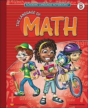 Academic Language Notebooks: The Language of Math - Grade 4
