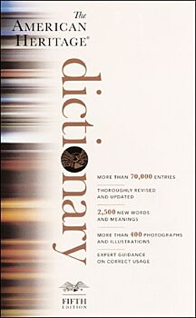 The American Heritage Dictionary, 5th Edition