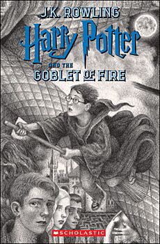 Harry Potter And The Goblet Of Fire (Brian Selznick  Cover Edition)