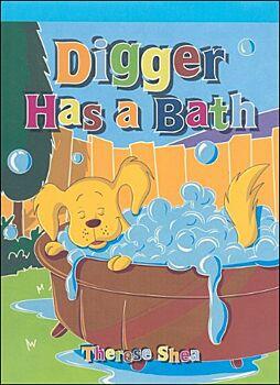 Digger Has a Bath