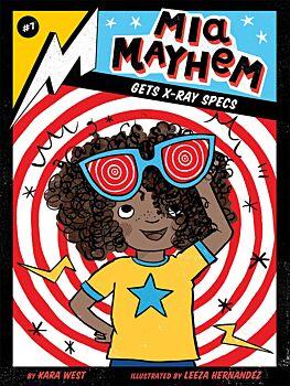 Mia Mayhem Gets X-Ray Specs