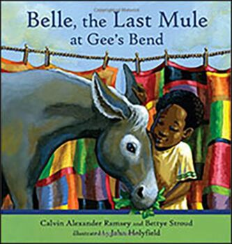 Belle the Mule at Gee's Bend