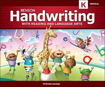 Benson Handwriting - Grade K - Vertical Manuscript (English)
