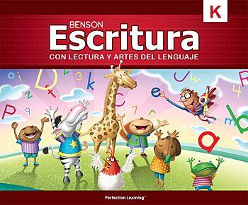 Benson Handwriting - Grade K - Vertical Manuscript (Spanish)