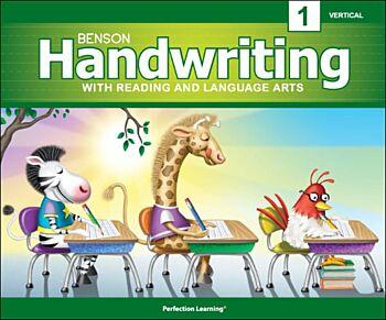 Benson Handwriting - Grade 1 - Vertical Manucript (English)