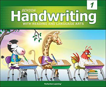 Benson Handwriting - Grade 1 - Slant Manuscript (English)
