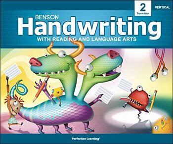 Benson Handwriting - Grade 2T - Vertical Manuscript (English)