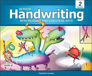 Benson Handwriting - Grade 2T - Slant Manuscript (English)