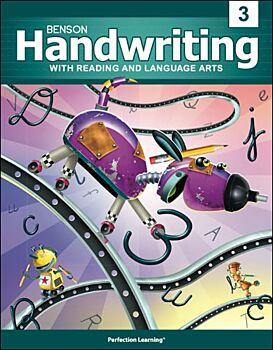 Benson Handwriting - Grade 3 - Vertical Manuscript (English)