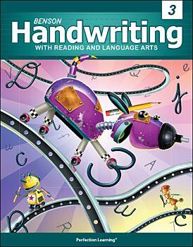 Benson Handwriting - Grade 3 - Slant Manuscript (English)
