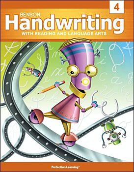 Benson Handwriting - Grade 4 - Cursive Mastery (English)