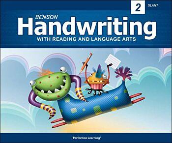 Benson Handwriting - Grade 2 - Slant Manuscript (English)