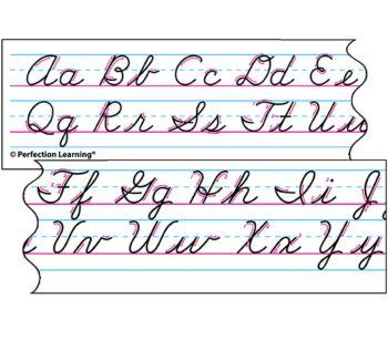 Benson Handwriting Cursive - Desk Strips