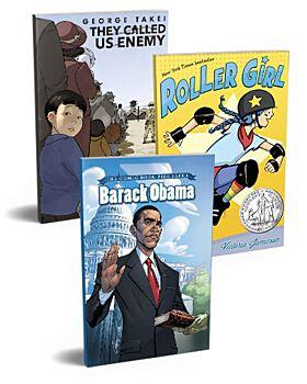 Grades 6-8 Graphic Novel Set