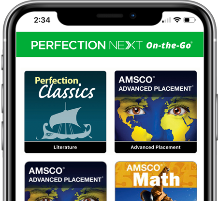 Perfection Next On-the-Go offers access to your eBooks anytime, anywhere.
