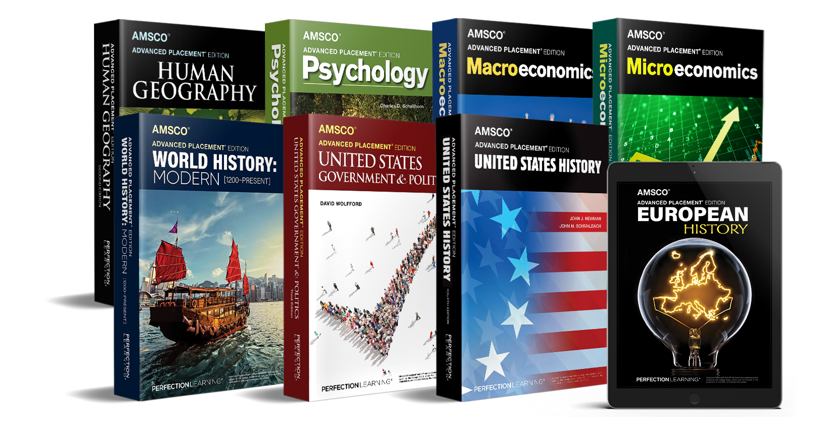 Achieve AP success with AMSCO coursebooks like AP English Literature and Composition and AP English Language and Composition